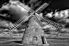 h a l n a k e r (zerajera) Tags: bw windmill interestingness bravo d200 hdr 2007 1k photomatix halnaker bwdreams supershot tonemapped 7xp outstandingshots exploretop10 zerajera halnakerwindmill explore5001stmarch2007 bratanesque winnerbc