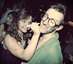 2010-06-07 Drawing ([Ananabanana]) Tags: nikon d40 nottingham nottinghamshire notts gimp photoscape uk unitedkingdom 1855mm 1855 nikkor nikon1855mmkitlens nikon1855mm nikonafsdx1855mm nikkor1855mm nikkorafsdx1855mm club clubbing music dancing drinking drunk student students drinks bar gig social young fisheyeconverter fisheye optekafisheyeconverter opteka035xfisheyeconverter optekafisheye opteka clubphotography clubphotographer nightclubphotography nightclubphotographer bingo portrait nikonistas nikonista dance flirt people rebelbingo