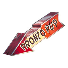 Pronto Pup sign