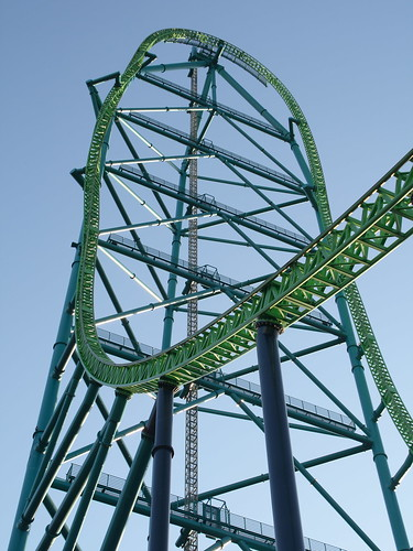 Kingda Ka - tower closeup