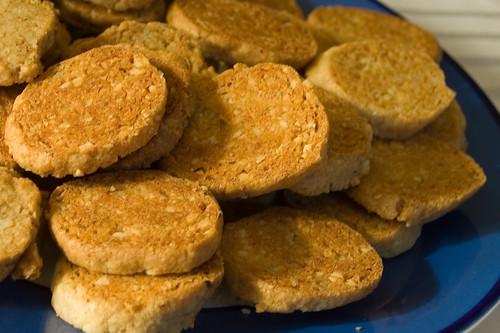 Hazelnut Crisps