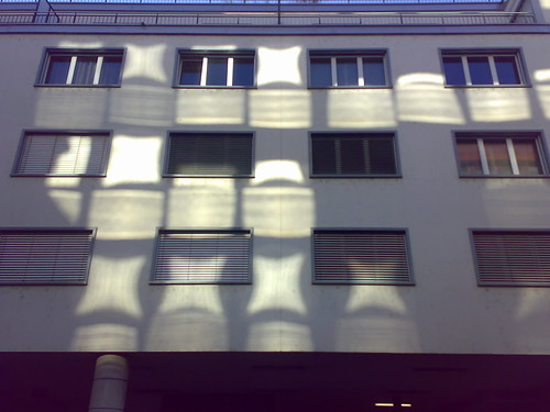Windows reflected