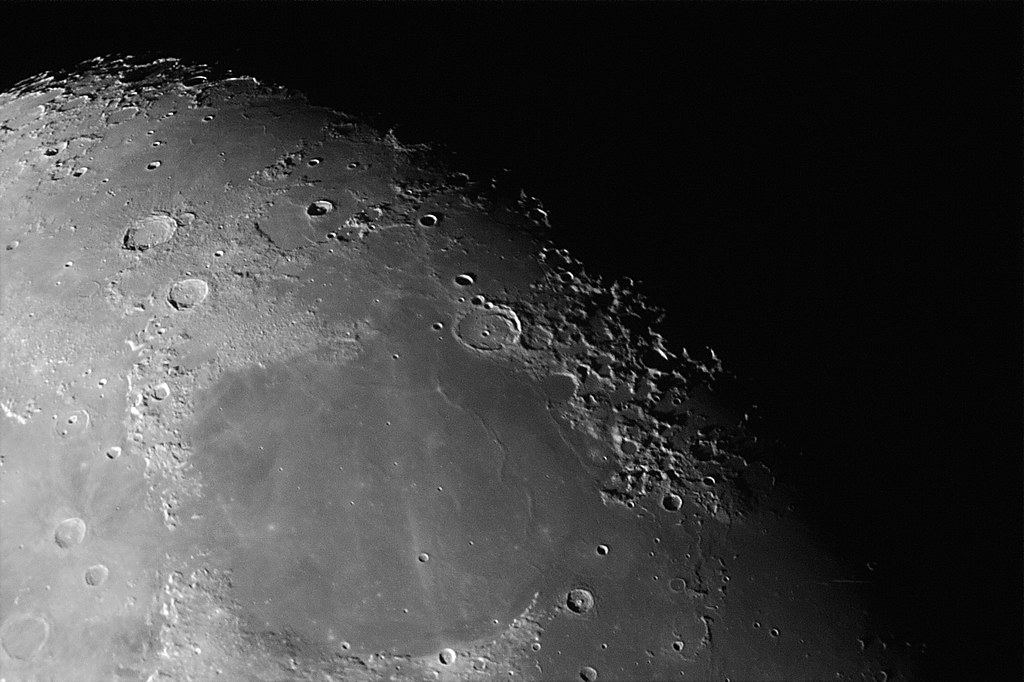 a research on the moon craters astronomy Collection and research  background information for astronomy tell me about  when he pointed his telescope to the moon craters are circular depressions.