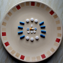 Medication diet squircle