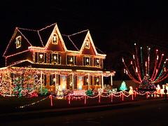 Crazy Christmas House (NJ) (Harpo42) Tags: christmas decorations house holiday festive lights glow display nj twinkle southjersey pinehill camdencounty