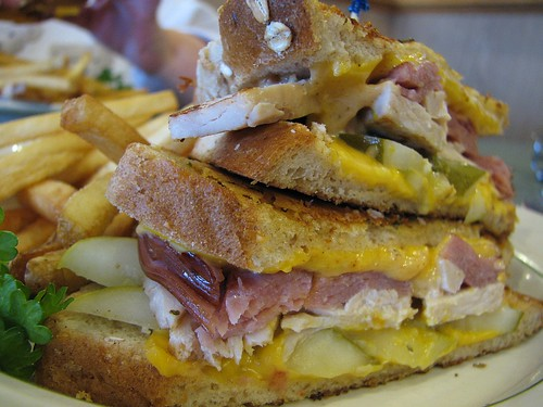 Ham and Turkey Cubano Parmanini