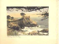 Vintage Christmas Card  Monterey