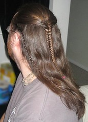 'Legolas' braid, from LotR