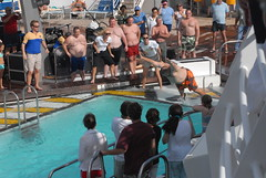 Belly Flop Contest (mark6mauno) Tags: cruise belly flop seas imo mariner marineroftheseas imo9227510 9227510
