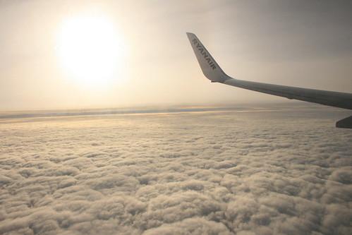 Volando hacia alguna parte