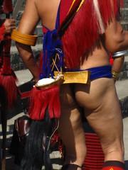 back side (dibopics) Tags: india festival tribal assam hornbill kohima nagaland dances dimapur dibopics angami hornbillfestival chakhesang rengma pochury