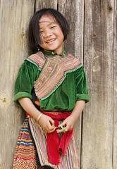 [フリー画像] [人物写真] [子供ポートレイト] [外国の子供] [少女/女の子] [笑顔/スマイル] [ベトナム人]     [フリー素材]