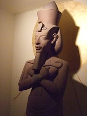 Egyptian government reproduction of a statue o...