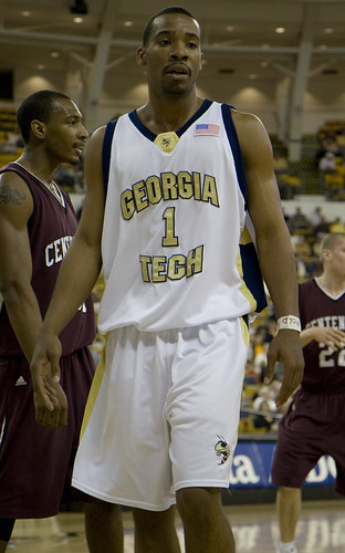 Javaris Crittenton at Georgia Tech - flickr/brookenovak