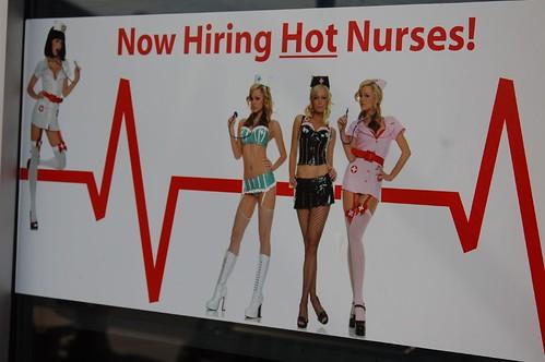 ¿Las Erasmus son enfermeras buenorras?