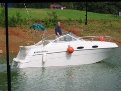 Mike Schinkel Boating on Lake Lanier