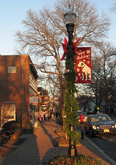 Holiday Sunset (magarell) Tags: christmas sign newjersey nj nipper moorestown burlingtoncounty