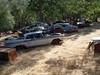 The Junk Yard (JAVA1888) Tags: california cars abandoned junkyard