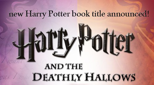 Harry Potter 7 Title Announced