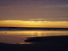 Solstice sunset in Malibu