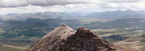 An Teallach: Towards the Fanniachs and Beinn Dearg