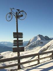 Bikestop  - view to Ifinger