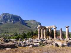 Temple of Apollo (Ancient Corinth) and Acrocorinth Fortress