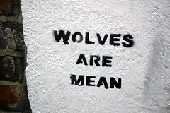 Wolves are Mean