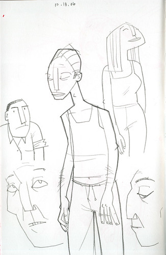 sketchdump: people