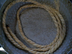 A Rope from Yasaka Jinja (Shrine) @ Kyoto, Japan 八坂神社(祇園)