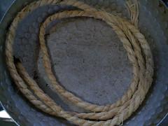 A Rope from Yasaka Jinja (Shrine) @ Kyoto, Japan 八坂神社(祇園)