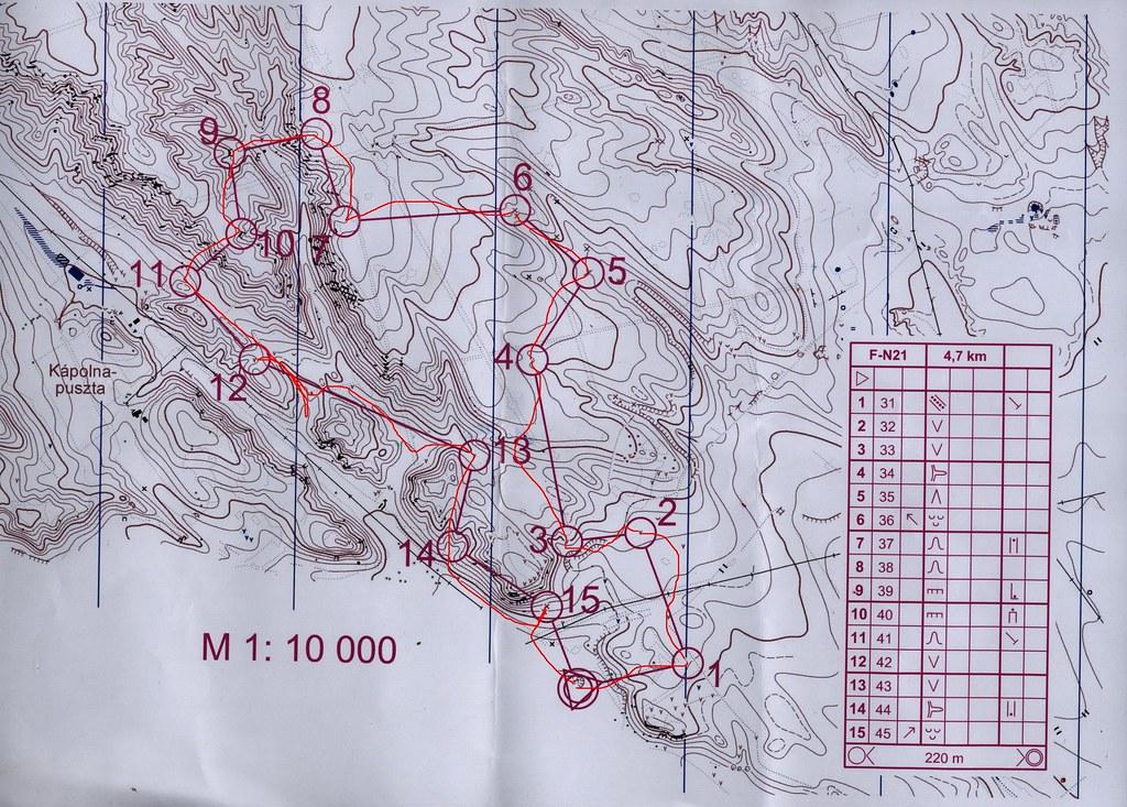 Domborzati fázis - térkép
