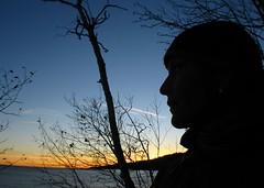 Gab at Sunset