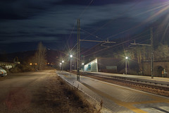 first HDR-Image (JanJanus) Tags: night train nikond50 railways dri nikonstunninggallery