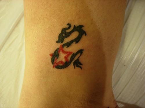 dragon tattoos free hand