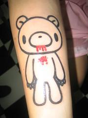 Gloomy Bear Tattoo
