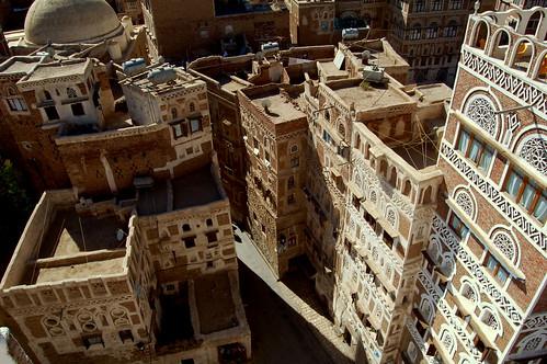 Sana'a old city, Yemen