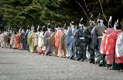 Archers in Meji Jingu