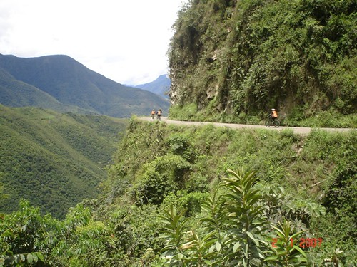 Ciclismo Carretera de la Muerte Bolivia