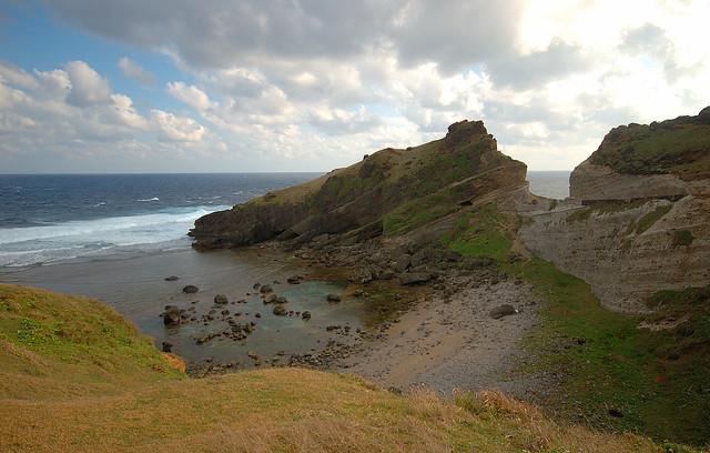 batanes - imnajbu split cliff