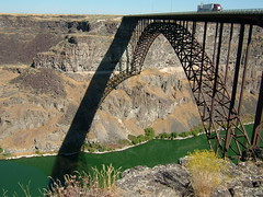 Perrine Bridge Over the Snake River