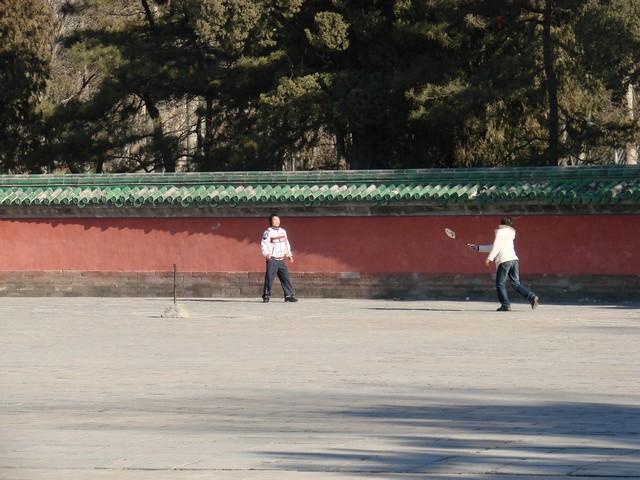 Badminton w Ritan Gongyuan