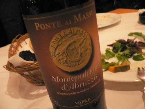 1本目のワイン