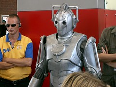 Cyberman at Swansea Waterfront Museum