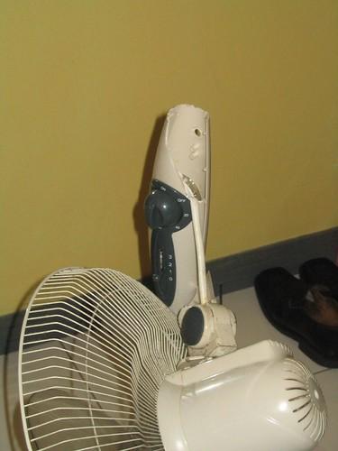 Snapped Fan