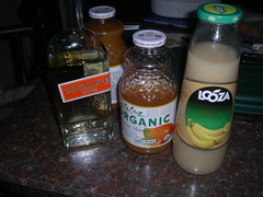 Monkey Nog ingredients