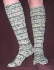 Opal 6-ply knee socks
