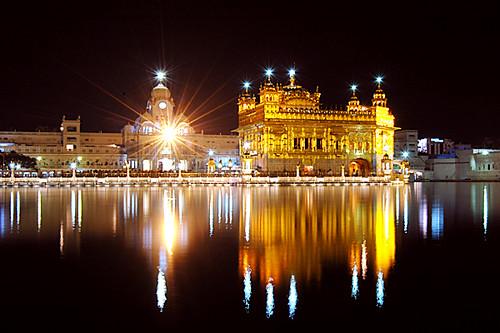 golden temple amritsar at night. India: Golden Temple, Amritsar