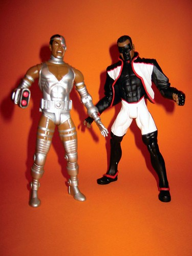 Cyborg and Mr. Terrific