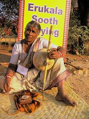 ఎరుకల సోది - A lady who tells Erukala Sodi (Sooth Saying) - by SriHarsha PVSS
